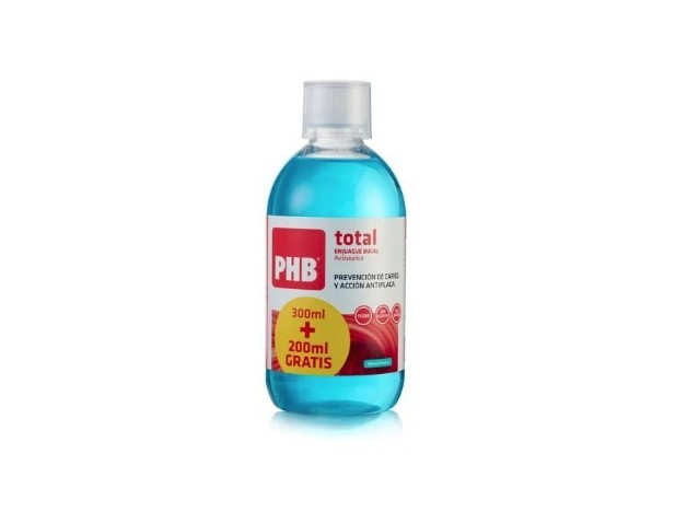 PHB TOTAL ENJUAGUE BUCAL 500 ML