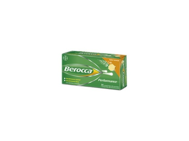 BEROCCA PERFORMANCE NARANJA 30 COMP...