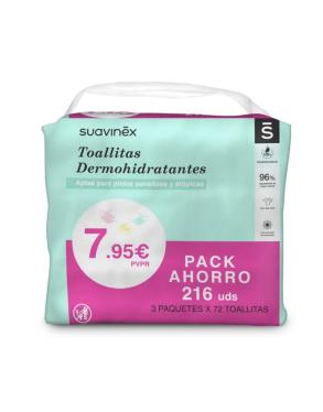 Pack Toallitas bebe SUAVINEX 276 uds
