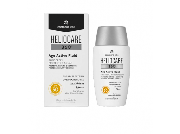 Heliocare 360 Age Active Fluid SPF 50 Antiaging