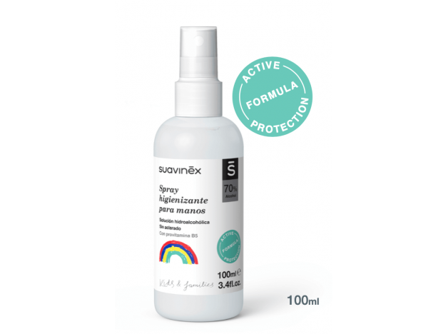 Spray higienizante manos SUAVINEX 100 ml