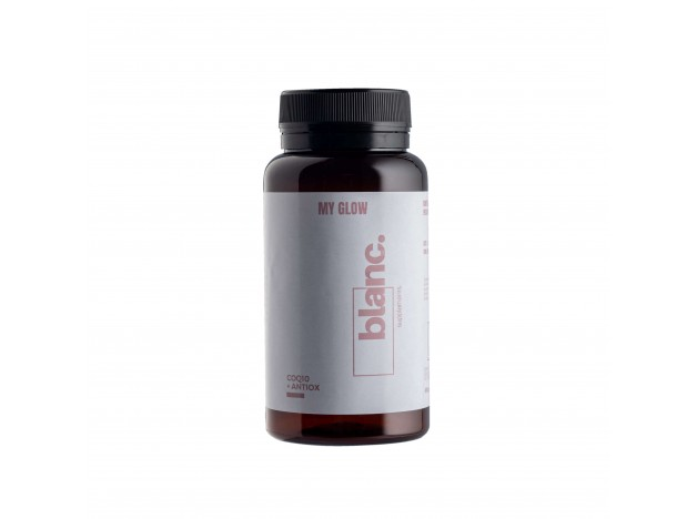 Blanc Supplements MY GLOW-Coq10 + Antiox 60 Cápsulas