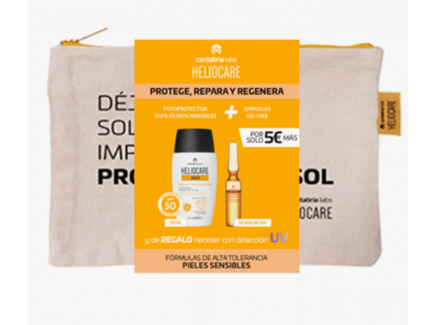 Pack Heliocare Mineral + Ampollas...