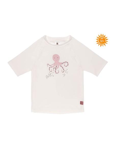 Camiseta Proteccion Solar Niños Manga Corta Octopus