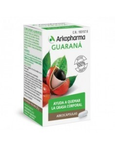 ARKOCAPSULAS GUARANA 340 MG...